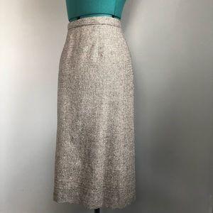 Vintage Pendleton Office Skirt